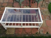 SHABBY CHIC CAIN COFFEE TABLE