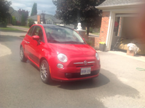 2013 Fiat 500 Sport! Great car for the city and the country!