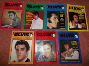 ELVIS PRESLEY MAGAZINES  (7 TOTAL)