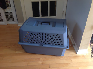 Moyenne cage transport chien