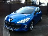 2008 MODEL PEUGEOT 308 SPORT 1.6 HDI FULL MOT *JUST REDUCED BY £500*