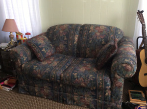 Couch, Loveseat and Wingback Chair