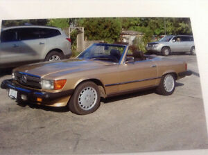 380 SL  3.8 LTR fuel injected