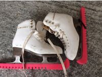 Girls size 4 ice skates