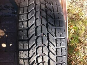 4 winter tires p215 70 r 15 Peterborough Peterborough Area image 1