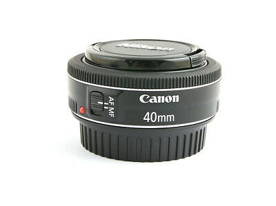 Canon EF 40mm F/2.8 STM Lens Exc+