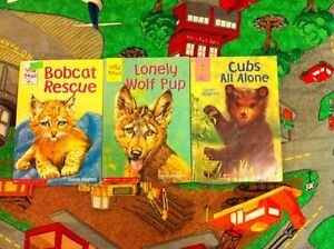 Wild Paws books $1.50 each or $4 for all 3
