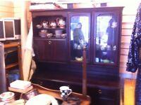 Genuine Stag sideboard / display cabinet