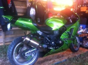 2001 ZX12r up for trade
