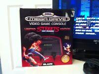 Sega megadrive at games console