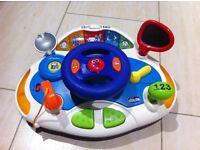 Chicco Driver Wheel Garage Car NEW CONDITION