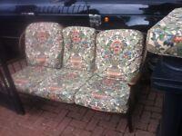 Retro sofa & arm chairs