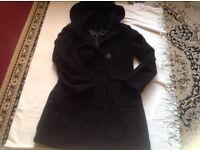 Next ladies coat size 8 used £3
