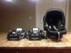 Peg Perego Car Seat with 2 Bases