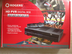 Rogers  HD PVR digital box