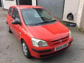 2004 HYUNDAI GETZ 1.3 GSI 3 DOOR CHEAP