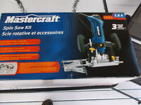Mastercraft Spinsaw Kit, 5.8A brand new in the box never used