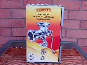 Porkert Table Mounted Meat Mincer Grinder London Ontario image 1