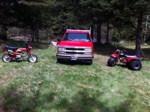 3 roues Honda atc 110