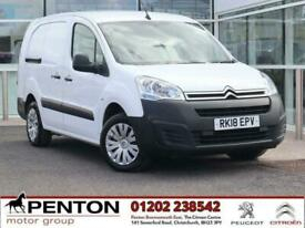 2018 Citroen Berlingo 1.6 BlueHDi 750 Enterprise L2 5dr Panel Van Diesel Manual