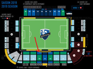 Montreal Impact vs Dc United -2 billets tickets- undercost