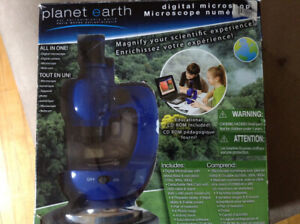 New Planet Earth Digital Microscope.