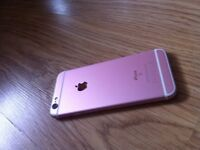 Rose Gold *** iPhone 6s *** Very Good Condition