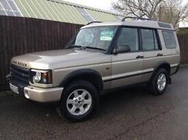 Land Rover Discovery 2.5Td5 7Seater auto 2003MY GS