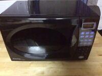 Danby microwave black