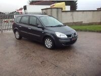 24/7 Trade sales NI Trade Prices for the public 2008 Renault Grand Scenic 1.6 7 seater Black