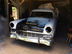 2 1956 Ranch Wagons