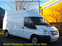 Ford Transit 115 T330L High Roof [ Mobile Workshop ] Low Mileage 2009/ 59