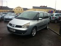 2005 MODEL RENAULT ESPACE 1.9 DCI EXPRESSION FACTORY DVD *SALE*