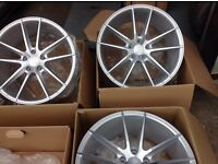 "19"" veeman alloy wheels AUDI VS OEMS IFG20"