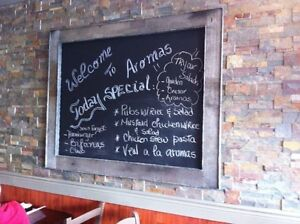 Menus, Menu boards , Chalkboards..... Any size you want! Oakville / Halton Region Toronto (GTA) image 1