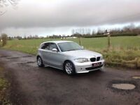 24/7 Trade sales NI Trade prices for the public 2004 BMW 118 D Sport Silver 5 Door