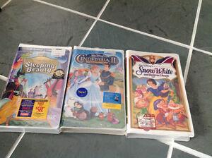 3 new Walt Disney VHS original classic movies