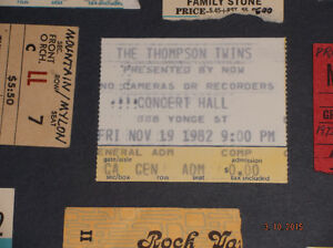 ROCK CONCERT TICKET STUBS Kitchener / Waterloo Kitchener Area image 4