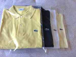 LACOSTE AUTHENTIC POLO SHIRTS - VARIOUS COLOURS