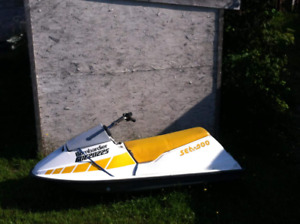 RUNNING/MINT BOMBARDIER 580cc SEADOO (MAKE OFFER /SWAP/TRADE)
