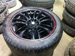 245/45R18 set of 4 on rims came off 11 Nissan Altima