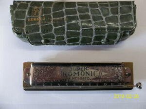 HOHNER Harmonica With Storage Case