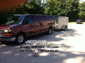 miniMOVES - DELIVERY - Removals.. ??   519-872-1313 London Ontario image 1