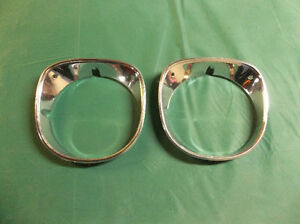 1970 Chevelle passenger's side headlamp bezels ..... super-nice