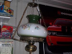 antique lampe de plafond 1940