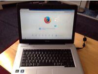 Toshiba L450D. Windows 7 pre 3GB wifi web cam cd/DVD rewriter hdmi port USB ports gwo