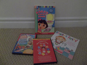 Potty Training Tools (Books/DVDs)