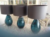 3 Teal Lights £60 for all 3