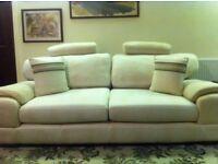 Cream Sofa suit for sale