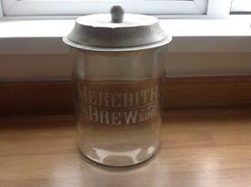 Shabby chic biscuit jar